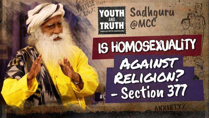 Is Homosexuality Against Religion?