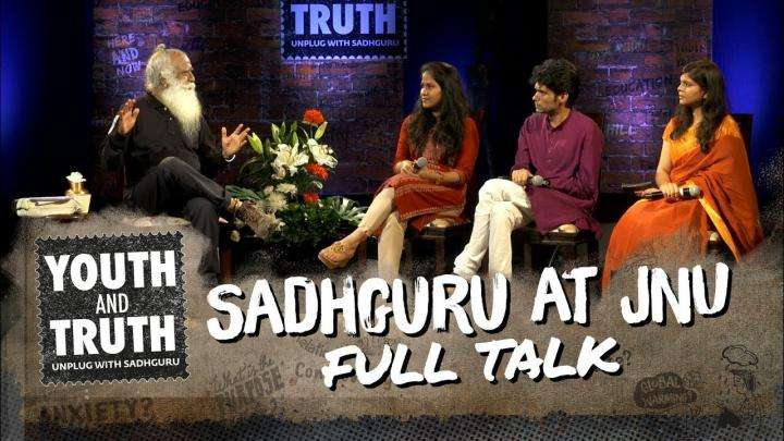 Sadhguru At JNU - Youth And Truth [Full Talk]