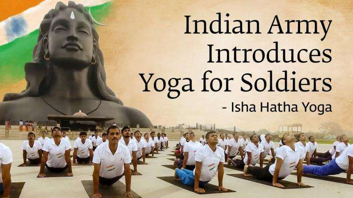 Indian Army Introduces Yoga for Soldiers