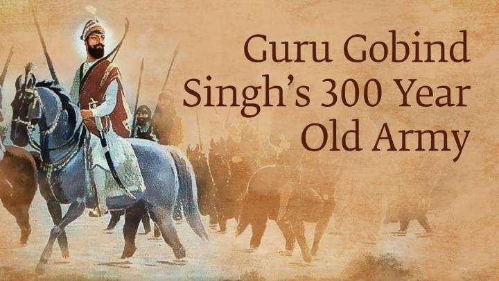 Guru Gobind Singh and His Fiery Warriors