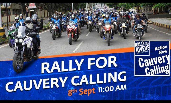 sadhguru wisdom video | Rally for Cauvery Calling in Bengaluru - Sadhguru Live @ 8 Sept, 11:00am