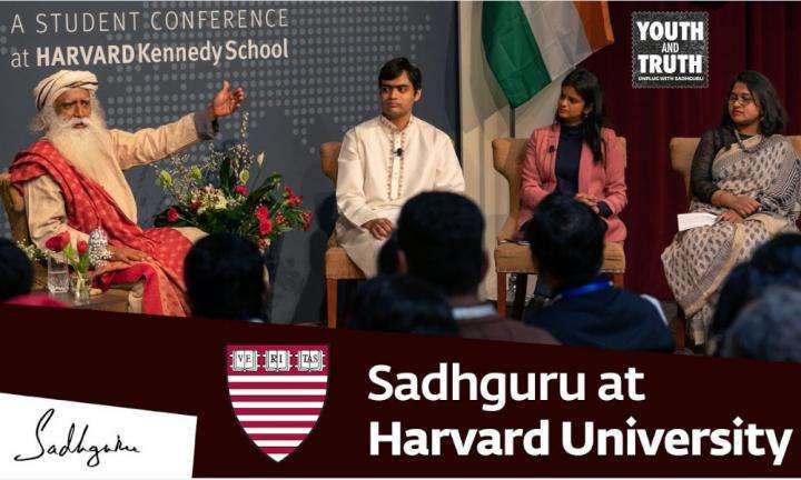 sadhguru wisdom audio | Youth And Truth | Sadhguru at Harvard University – Youth and Truth, Feb 17, 2019