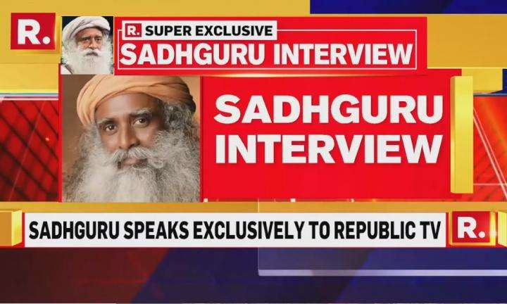 sadhguru wisdom video | Sadhguru's Cauvery Calling Interview on Republic TV