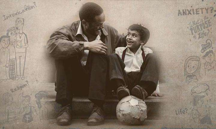 Father and Son with football | How Should Our Parents Influence Our Lives?
