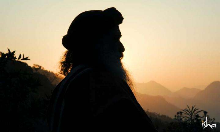 Sadhguru in silhouette | What Can a Guru Do for You?