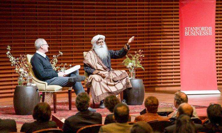 Jonathan Coslet with Sadhguru - Capitalism and Spirituality