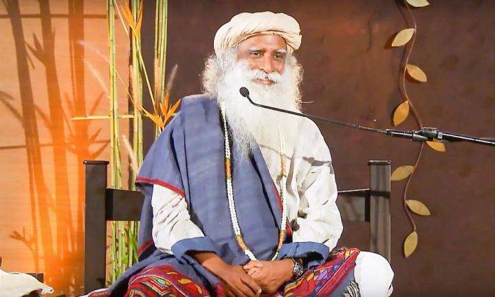 Sadhguru answers a question at a satsang | What Does It Take to Say You Are My Guru