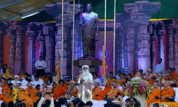 Sadhguru talks about Adi Shankara at the Ekatm Yatra, Bhakta Niwas, Omkareshwar, organised by the Madhya Pradesh Government | How Did Adi Shankara Become Such a Great Being?