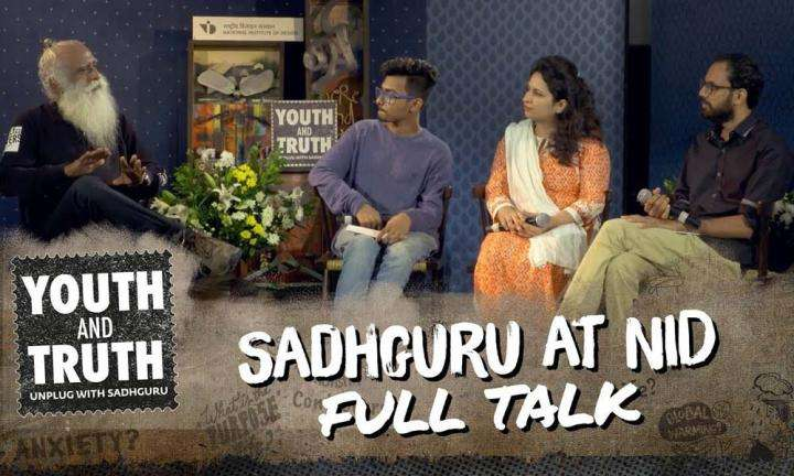 Sadhguru at NID Ahmedabad – Youth and Truth [Full Talk]
