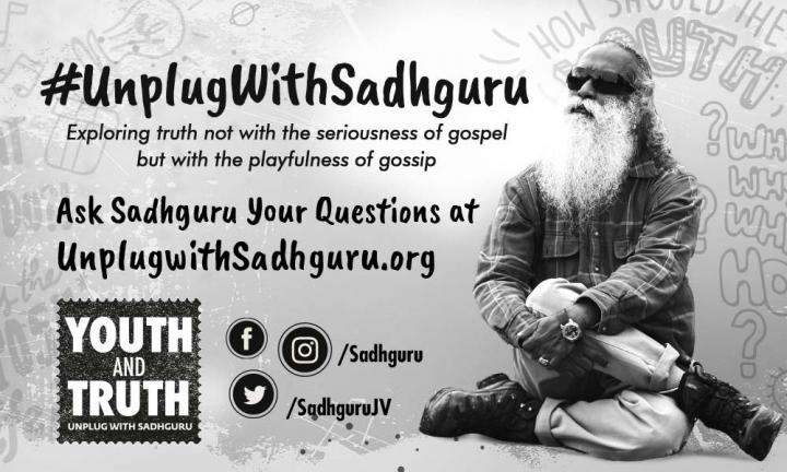 Sadhguru in casual wear, profile image for Youth And Truth
