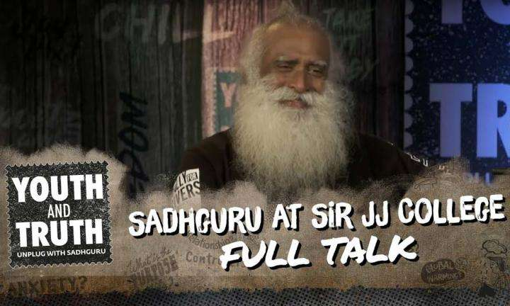 Sadhguru at Sir JJ College of Architecture, Mumbai – Youth and Truth [Full Talk]