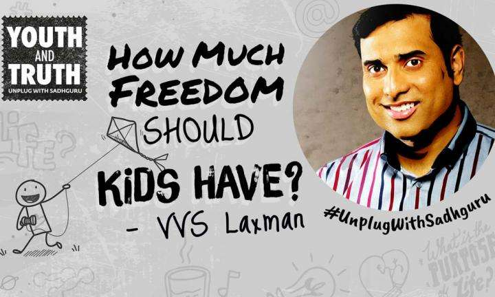 Should Kids Be Free to Make Decisions? VVS Laxman Asks Sadhguru