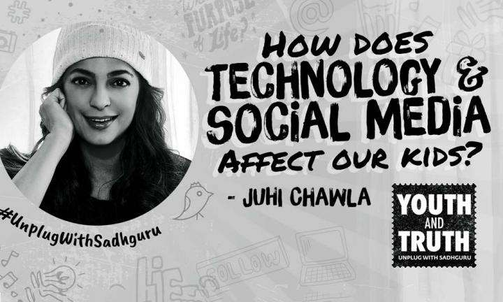 Are Phones & Social Media Bad For Kids? Juhi Chawla Asks Sadhguru