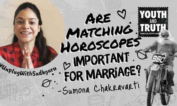 Are Matching Horoscopes Important For Marriage? Sumona Chakravarti Asks Sadhguru