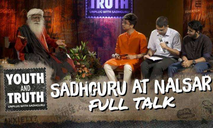 Sadhguru at NALSAR - Youth and Truth [Full Talk]