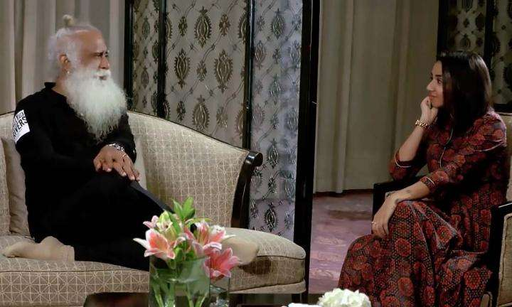 Youtuber Prajkta Koli In Conversation with Sadhguru