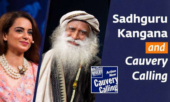 Kangana Ranaut Instagram LIVE Chat With Sadhguru