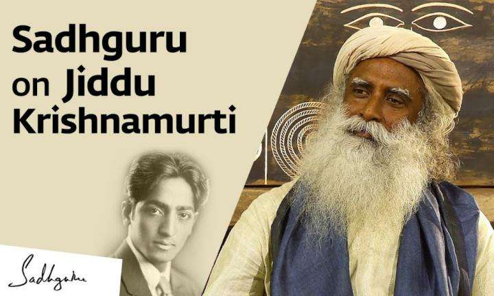 sadhguru wisdom video | sadhguru on jiddu krishnamurti and his life