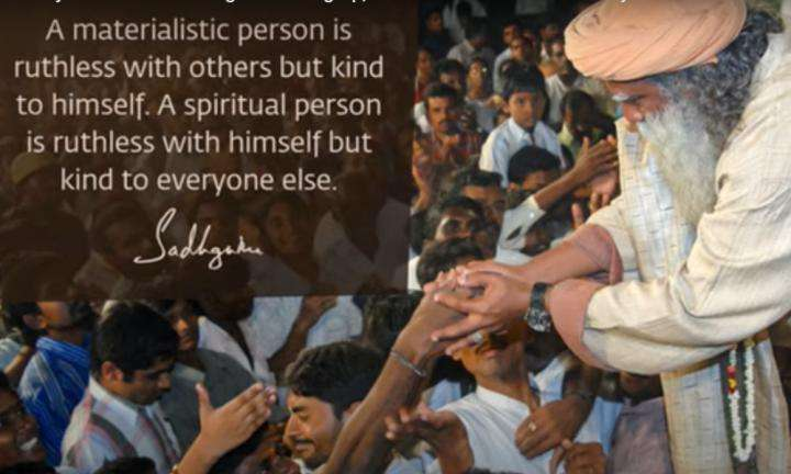 Sadhguru Wisdom Video | Spirituality is Not About Giving Something Up, but a True Lust for Life
