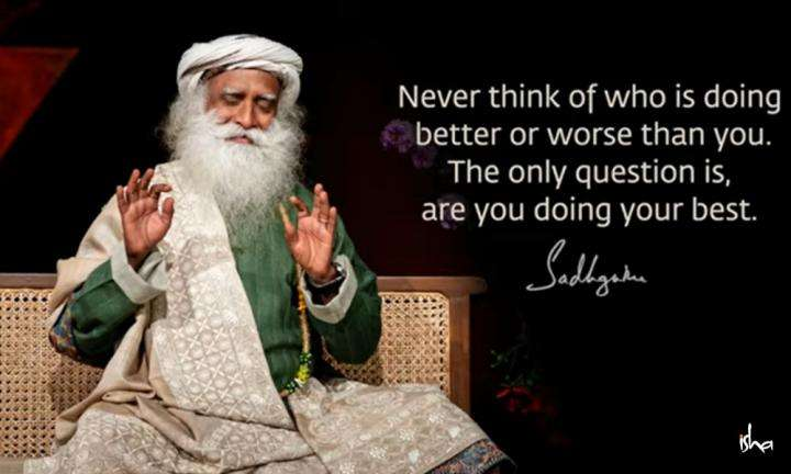Sadhguru Wisdom Video | Daily Wisdom | Life Goes Waste In Worrying How Someone Else Is Doing.