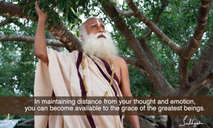 Sadhguru Wisdom Video | Daily Wisdom | Being Available To The Grace Of The Greatest Beings That Ever Were