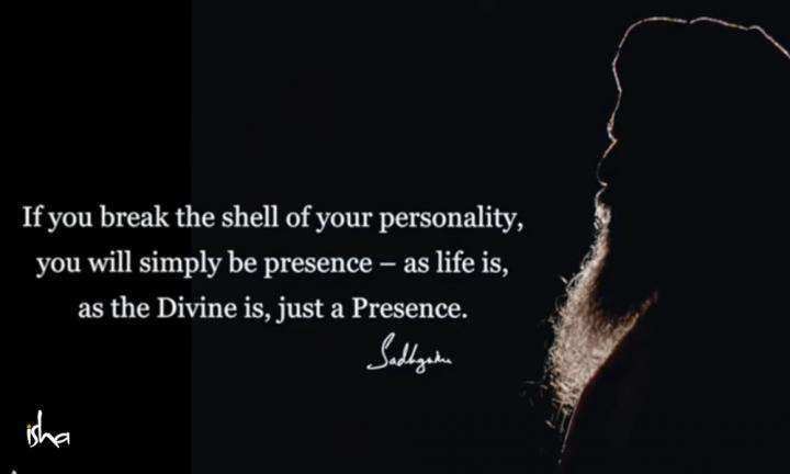 Sadhguru Wisdom Video | Daily Wisdom | Your Personality Is Just An Accumulation of Memory and Past Experiences.