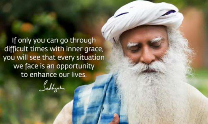 Sadhguru Wisdom Video | Challenging Times Are The Best Times To Become More Strong And Aware.