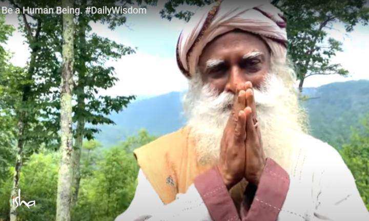 Sadhguru Wisdom Video | Daily Wisdom | What It Means to Be a Human Being