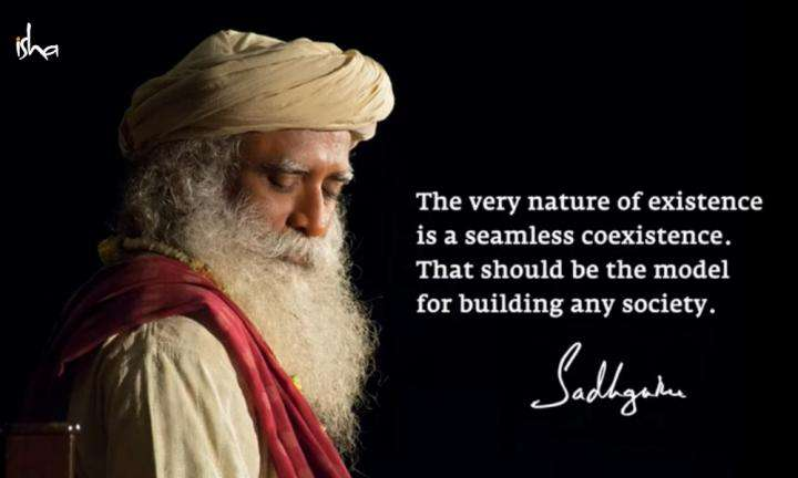 Sadhguru Wisdom Video | Daily Wisdom | Only In Coexistence Is Sustained Existence Possible