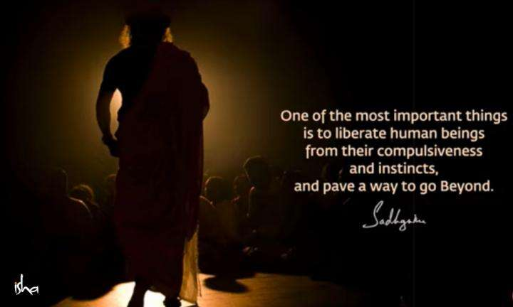 Sadhguru Wisdom Video | Daily Wisdom | Consciousness Means That Your Way of Being Is Determined By You.