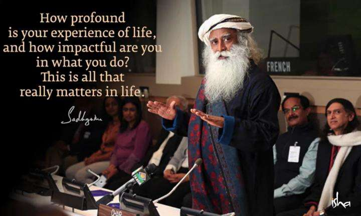 Sadhguru Wisdom Video | Daily Wisdom | Your Destiny As a Human Being Must Be Crafted By You.