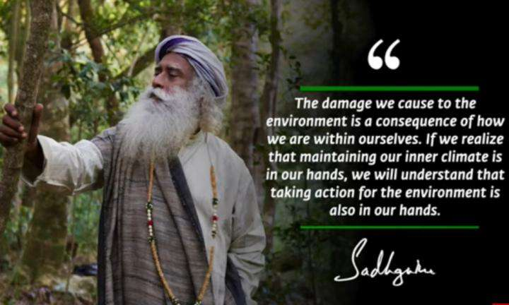 Sadhguru Wisdom Video | Daily Wisdom | Ecological Action Is Very Urgent Because Possible Disaster Is Imminent.