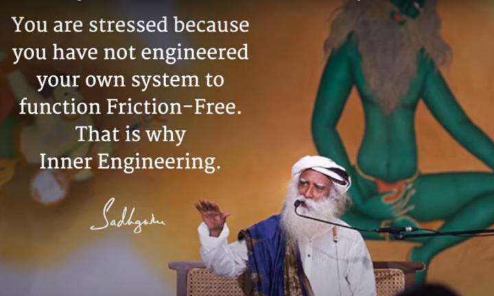 Sadhguru Wisdom Video | Daily Wisdom | If You Are Well Engineered From Within, There Will be No Stress