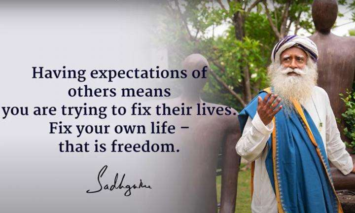 Sadhguru Wisdom Video | Daily Wisdom | Fix Your Own Life - That is Freedom, Growth and Liberation