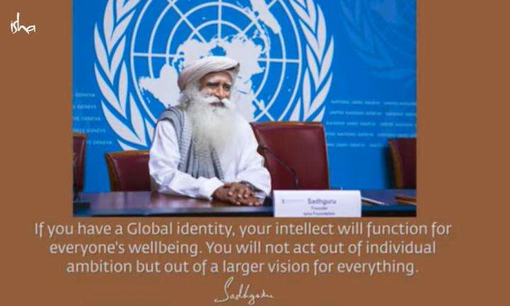 Sadhguru Wisdom Video | Daily Wisdom | For a Generation Hugely Empowered By Technology, a Global Identity is a Must