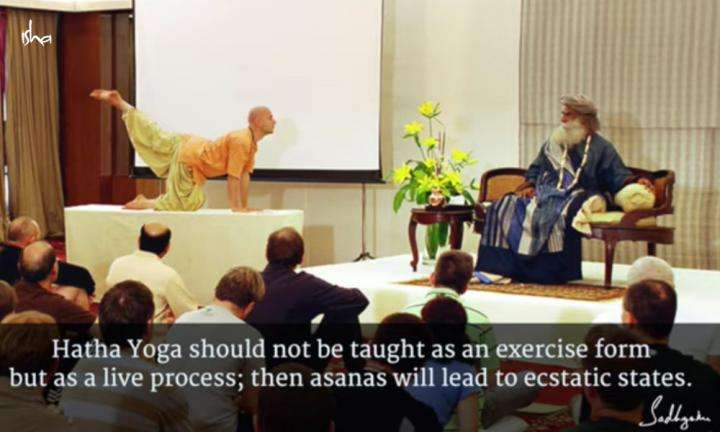 Sadhguru Wisdom Video | Daily Wisdom | Hatha Yoga Is Not Just Postures, But A Very Profound Science.