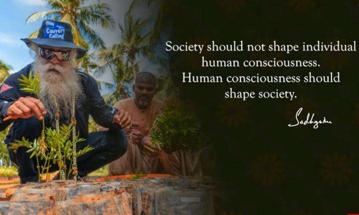 Sadhguru Wisdom Video   Daily Wisdom   Human Consciousness Must Shape Social Structures, Not The Other Way Around
