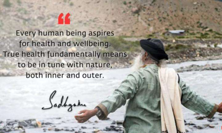 Sadhguru Wisdom Video | Daily Wisdom | A Large Part Of Health Can Be Taken Into Our Hands With Necessary Sadhana