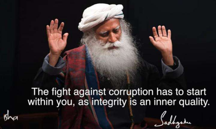 Sadhguru Wisdom Video | Daily Wisdom | Integrity Is a Consequence Of An Absolute Sense Of Inclusiveness.