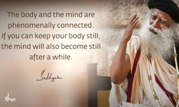 Sadhguru Wisdom Video | Daily Wisdom | In Knowing Stillness, You Become Competent to Act Dynamically.