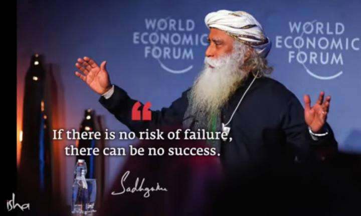 Sadhguru Wisdom Video | Daily Wisdom | I Don't Believe In Learning From Failures. You Must Learn Not To Fail.