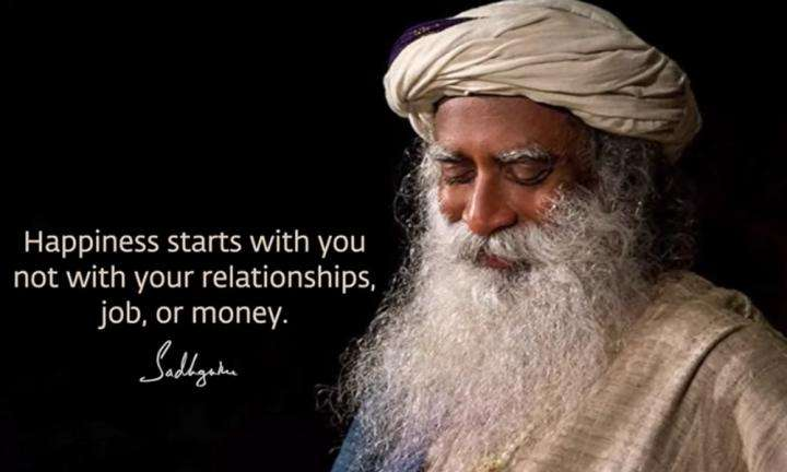 Sadhguru Wisdom Video   If You Learn How Not To Mess With Your Mind, You Will Be Happy.