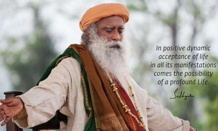Sadhguru Wisdom Video   Daily Wisdom   Profoundness of Life Happens When You Are In Absolute Acceptance