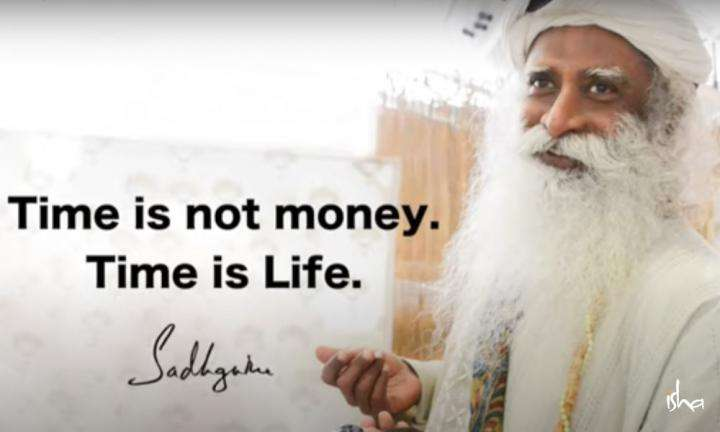 Sadhguru Wisdom Video | Daily Wisdom | Life is a Very Limited Amount Of Time For The Potential a Human Being Has