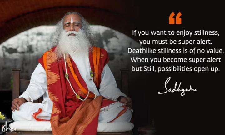 Sadhguru Wisdom Video | Daily Wisdom | Man Is Ill Only Because He Does Not Know How To Be Still