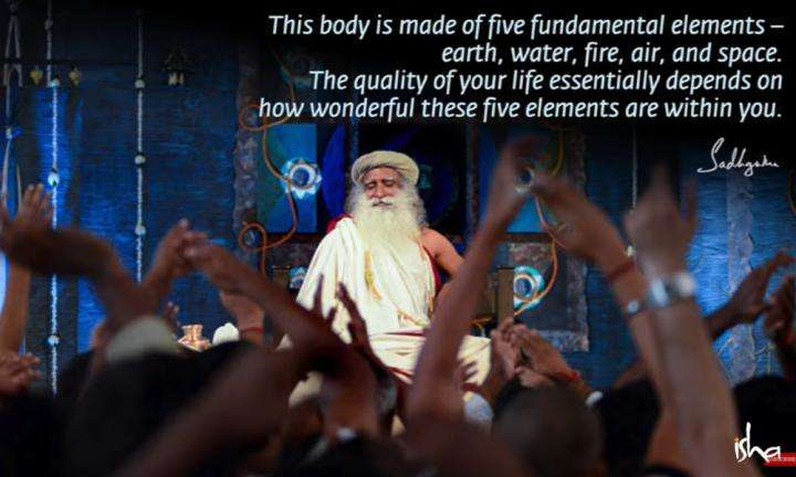 Sadhguru Wisdom Video | Daily Wisdom | Mastery Over the Five Elements Brings Tremendous Command Over Your Own Life.