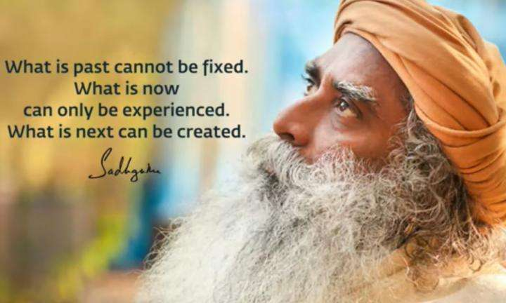 Sadhguru Wisdom Video | Daily Wisdom | You Can Think About Past or Future, But Only This Moment Can Be Experienced.