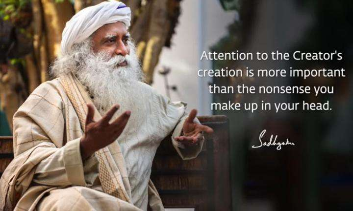 Sadhguru Wisdom Video | Daily Wisdom | If You Pay Attention To Creation, You Will See Magic and Wonder Everywhere.