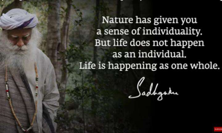 Sadhguru Wisdom Video | Daily Wisdom | Inability to Distinguish Psychological from Existential Leads to Suffering