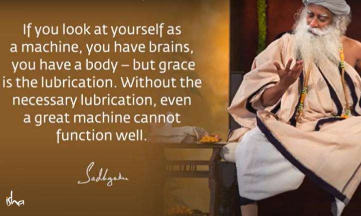 Sadhguru Wisdom Video | Daily Wisdom | If You Do Not Think Too Much of Yourself, You Become Available to Grace